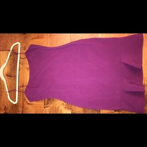 LIKELY banks mini dress w/ ruffle trim